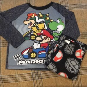 Mario cart pj set
